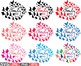 Family birds & Butterflies butterfly love clipart svg heart Valentine's  -538s