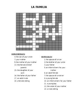 Family - crossword