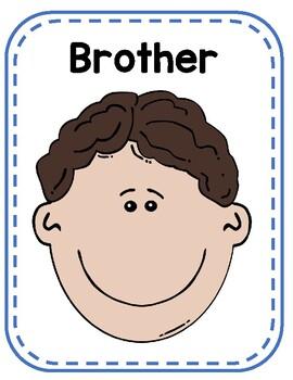 Family flashcards