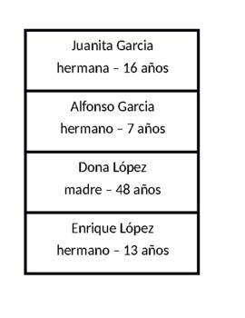 Familia (Family in Spanish) game