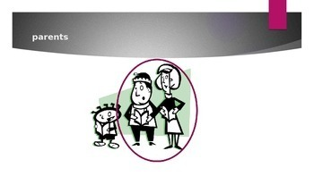 Family in English power point