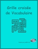 Famille (Family in French) Kriss Kross puzzle