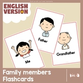 Family members Flashcards (ENG)
