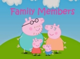 Family members PPt flashcards
