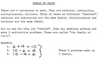 Family of Facts
