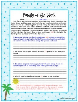Family of the Week