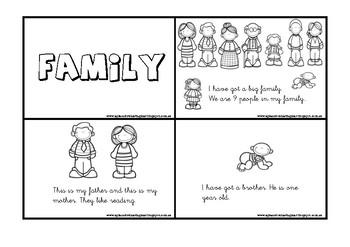 Family reading minibook