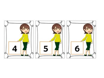 Family theme unit (mommy/baby) Letters(upper and lowercase) & Numbers flashcards