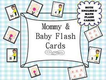 Family theme unit (mommy/baby) Letters(upper and lowercase
