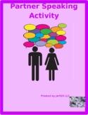 Family in English Family tree Partner speaking activity
