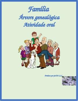 Familia (Family in Portuguese) Family tree Partner speaking activity