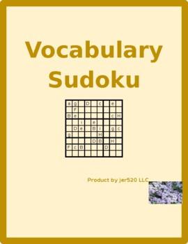 Family in English Sudoku