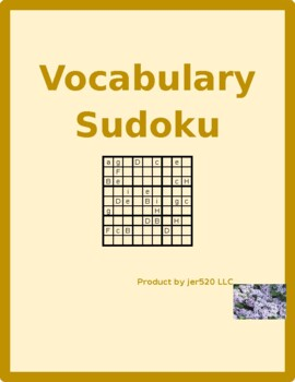 Family in English Sudoku