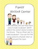 Family writing center