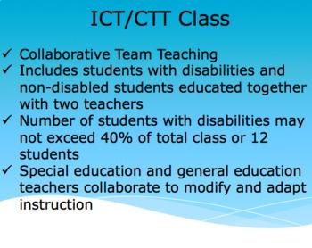 Family/Parent Special Education Presentation (editable)