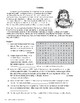 Famine, RECENT WORLD HISTORY LESSON 27/45, Reading & Word Search Puzzles +Quiz