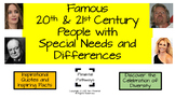 Famous 20th&21st Century People With Special Needs and Dif
