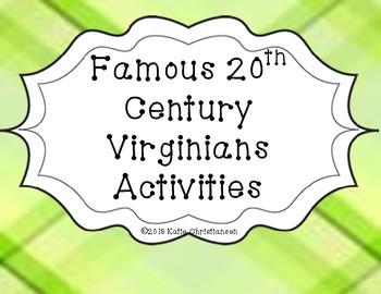 VS.9d Famous 20th Century Virginians Pack