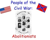 Famous Abolitionists - Smartboard Lesson