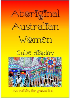 NAIDOC WEEK- Famous Aboriginal Women Display Cube