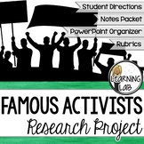 Famous Activists Guided Research Project