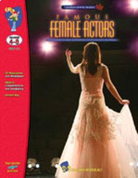 Famous Female Actors Gr. 4-8