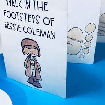 Bessie Coleman Biography Unit: Black History Month Activities