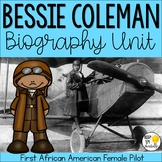 Bessie Coleman Biography Unit: Black History Month Activities