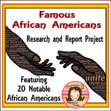 Notable African Americans Biography Research Project
