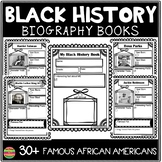 Black History Month; Famous African Americans Biography Book