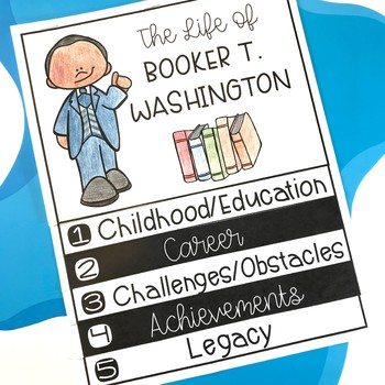 Booker T. Washington Biography Unit: Black History Month Activities