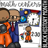 Black History Month Math Centers