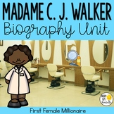 Sarah Breedlove Walker Biography Unit : Black History Month Activities