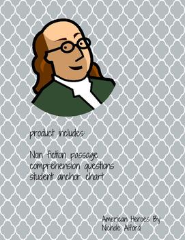 Famous American : Benjamin Franklin