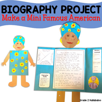 Famous American Biography Project - Make a Mini Famous American!