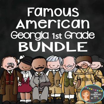 Famous American Bundle Pack- PowerPoint & Printables {Georgia 1st Grade}