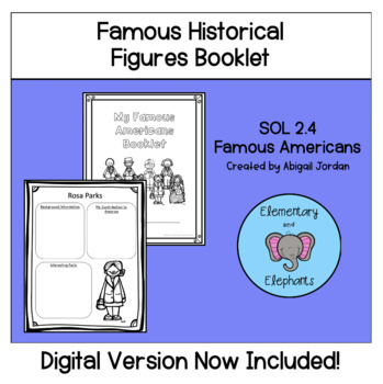 Famous American Contributions Booklet