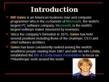 Famous American - Bill Gates