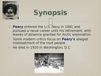 Famous American Explorers - Robert Peary