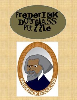 Famous American Frederick Douglass Puzzle