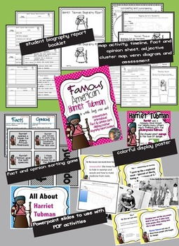 Harriet Tubman: Mini Unit {PowerPoint & Printables}