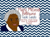 Famous American Heroes Task Cards- Mary McLeod Bethune