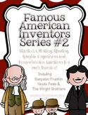 Famous American Inventors #2 {Franklin, Tesla, and Wright