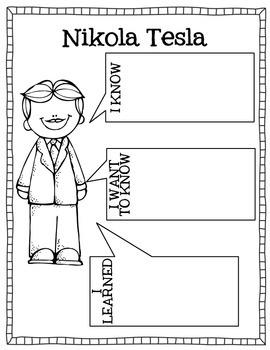 Famous American Inventors  {Tesla}