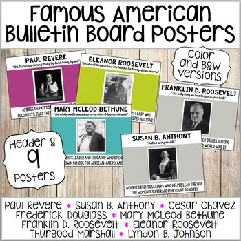 Famous American Posters