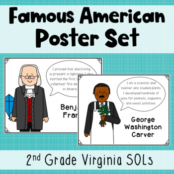 Famous American Posters and Activity {SOL 2.4}
