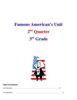 Famous American Social Studies Unit