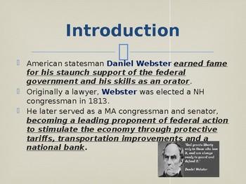 Famous American Statesmen - Daniel Webster
