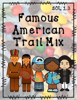 Famous American Trail Mix {SOL 1.3}