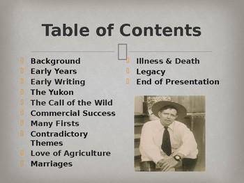 Famous American Writers - Jack London